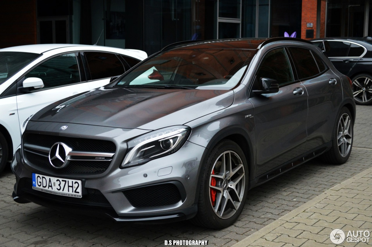 mercedes amg gla 45 x156 17 april 2017 autogespot. Black Bedroom Furniture Sets. Home Design Ideas