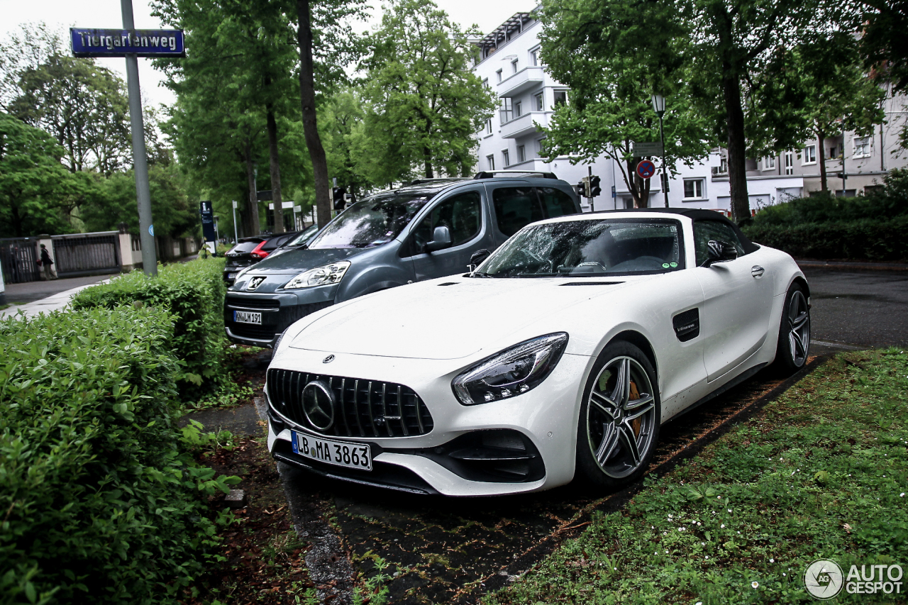mercedes amg gt c roadster 17 april 2017 autogespot. Black Bedroom Furniture Sets. Home Design Ideas