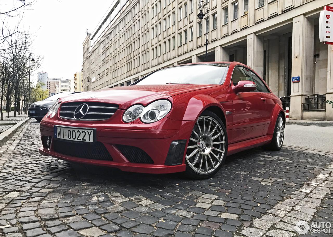 Mercedes benz clk 63 amg black series 17 april 2017 for Mercedes benz clk63 amg black series