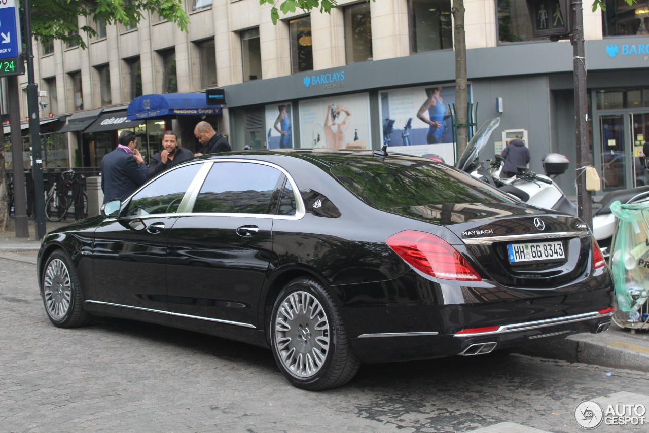 Mercedes maybach s600 17 april 2017 autogespot for 2017 mercedes benz s600