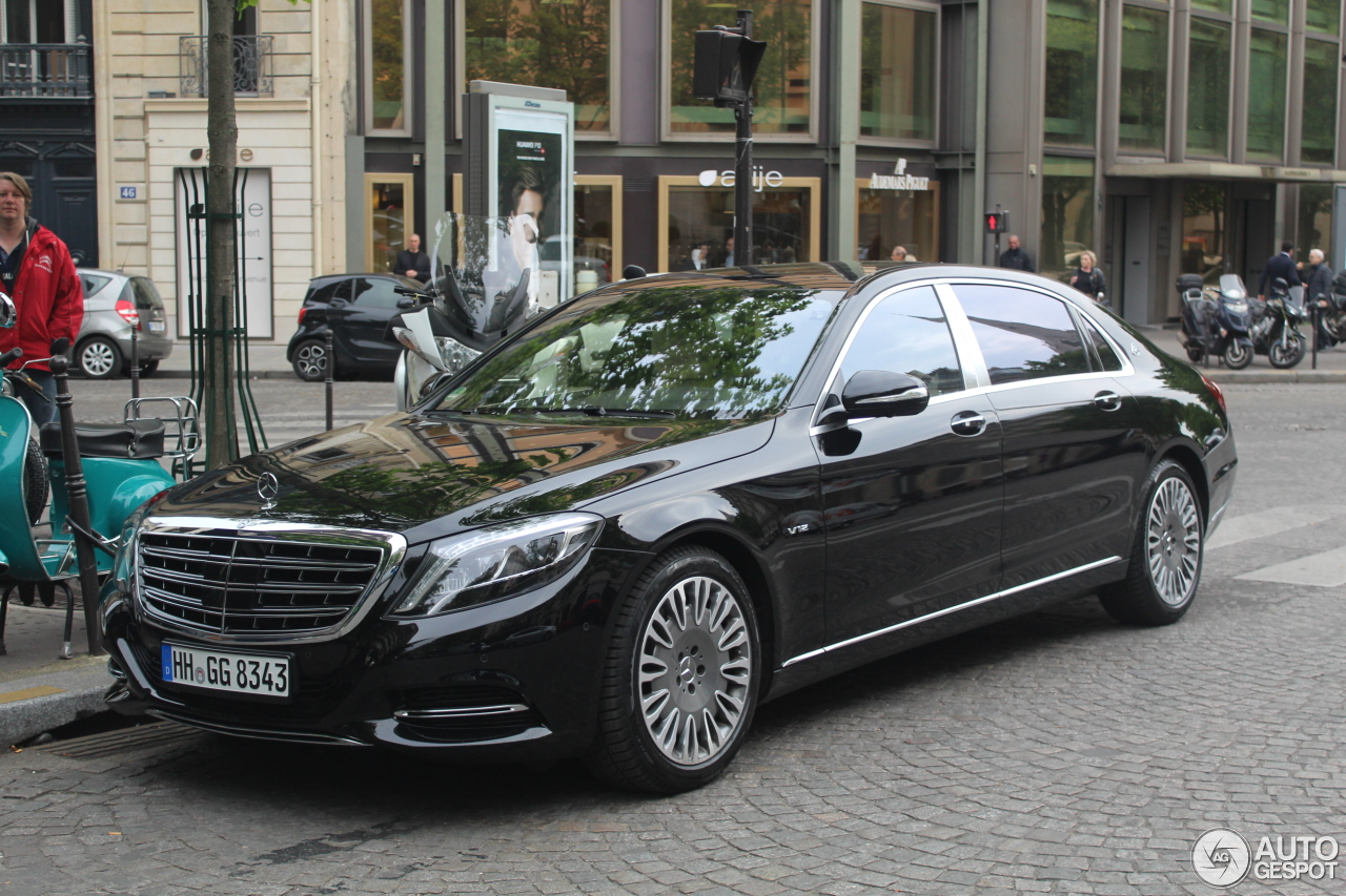 Mercedes maybach s600 17 april 2017 autogespot for 2017 mercedes benz s600 maybach