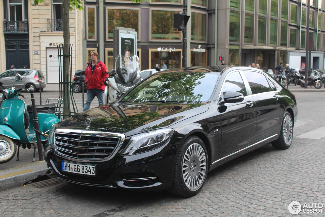 Mercedes maybach s600 17 avril 2017 autogespot for 2017 mercedes benz s600