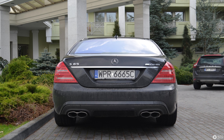 Mercedes benz s 65 amg v221 2010 17 kwiecie 2017 for 2017 amg s 65 mercedes benz