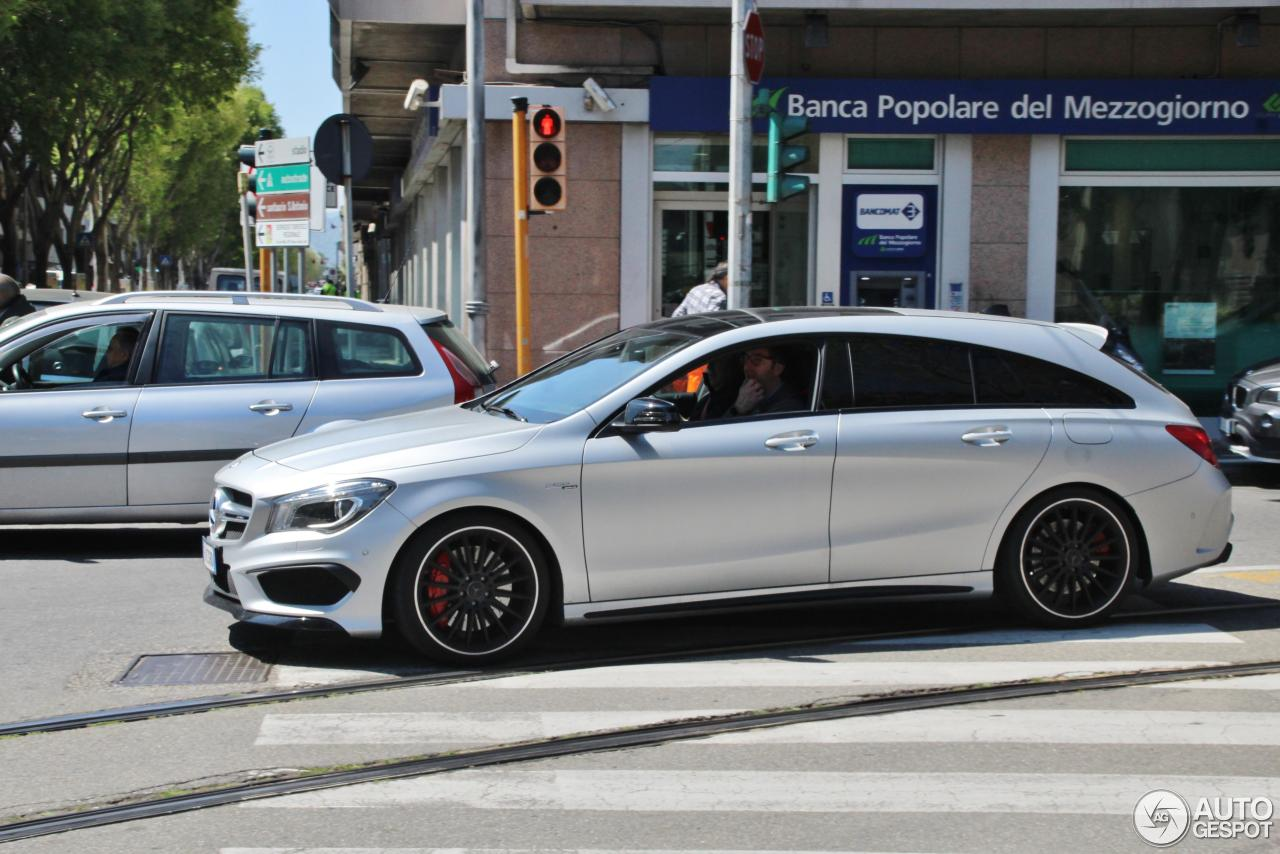 mercedes benz cla 45 amg shooting brake 18 april 2017. Black Bedroom Furniture Sets. Home Design Ideas
