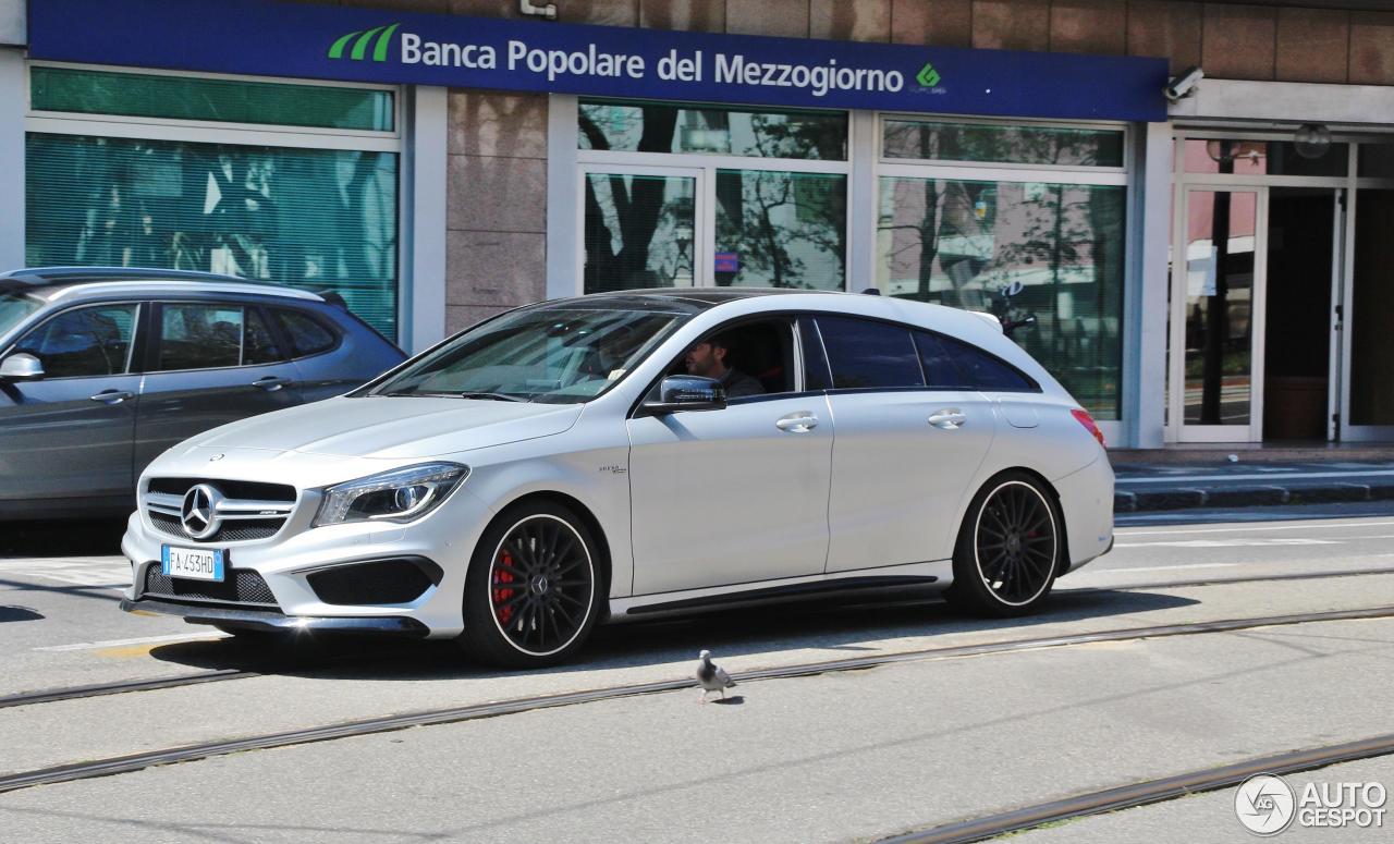 Mercedes benz cla 45 amg shooting brake 18 april 2017 for Mercedes benz cla 2017