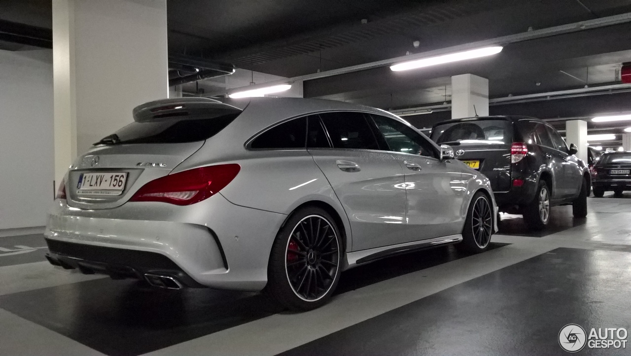 mercedes benz cla 45 amg shooting brake 18 april 2017 autogespot. Black Bedroom Furniture Sets. Home Design Ideas
