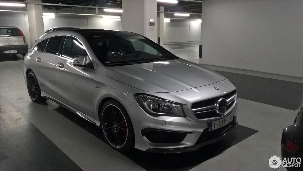Mercedes-Benz CLA 45 AMG Shooting Brake - 18 April 2017 - Autogespot