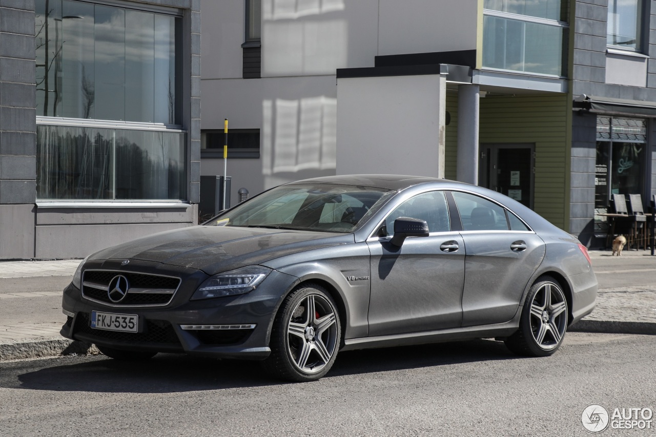 Mercedes benz cls 63 amg c218 18 aprile 2017 autogespot for 2017 amg cls 63 mercedes benz