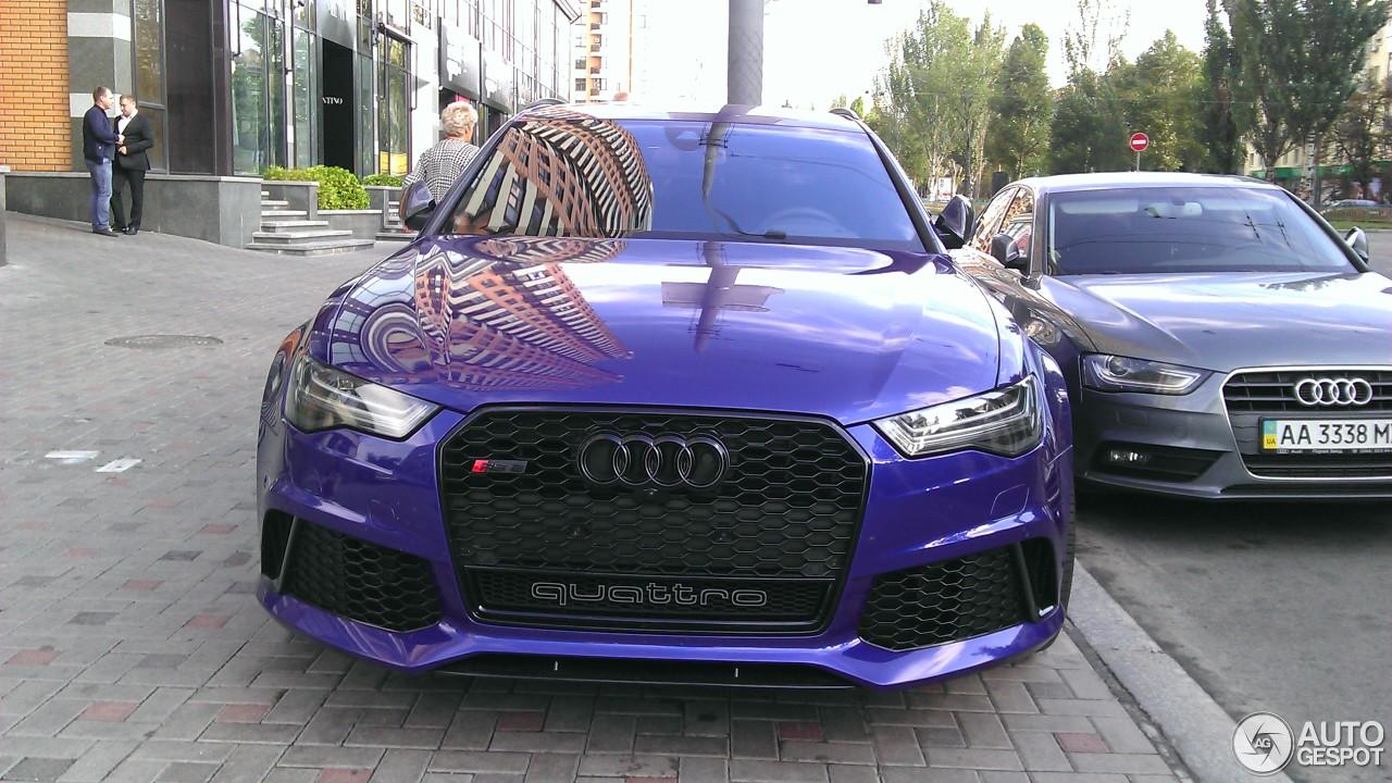 Audi RS Avant C April Autogespot - Audi rs6