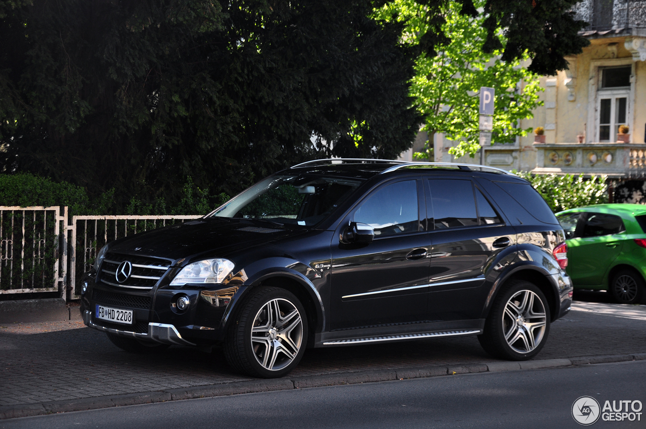 mercedes benz ml 63 amg w164 2009 19 april 2017 autogespot. Black Bedroom Furniture Sets. Home Design Ideas