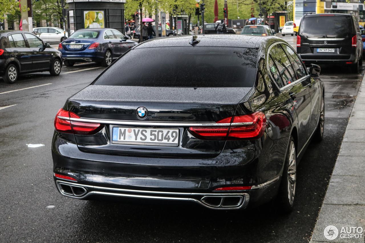 Bmw M760li Xdrive 20 April 2017 Autogespot