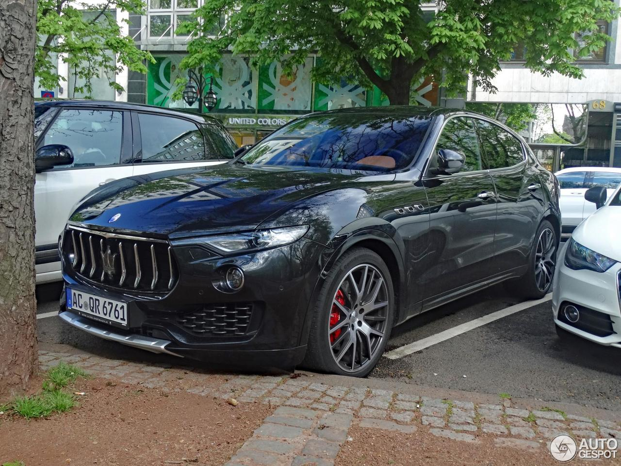 maserati levante s 20 april 2017 autogespot. Black Bedroom Furniture Sets. Home Design Ideas