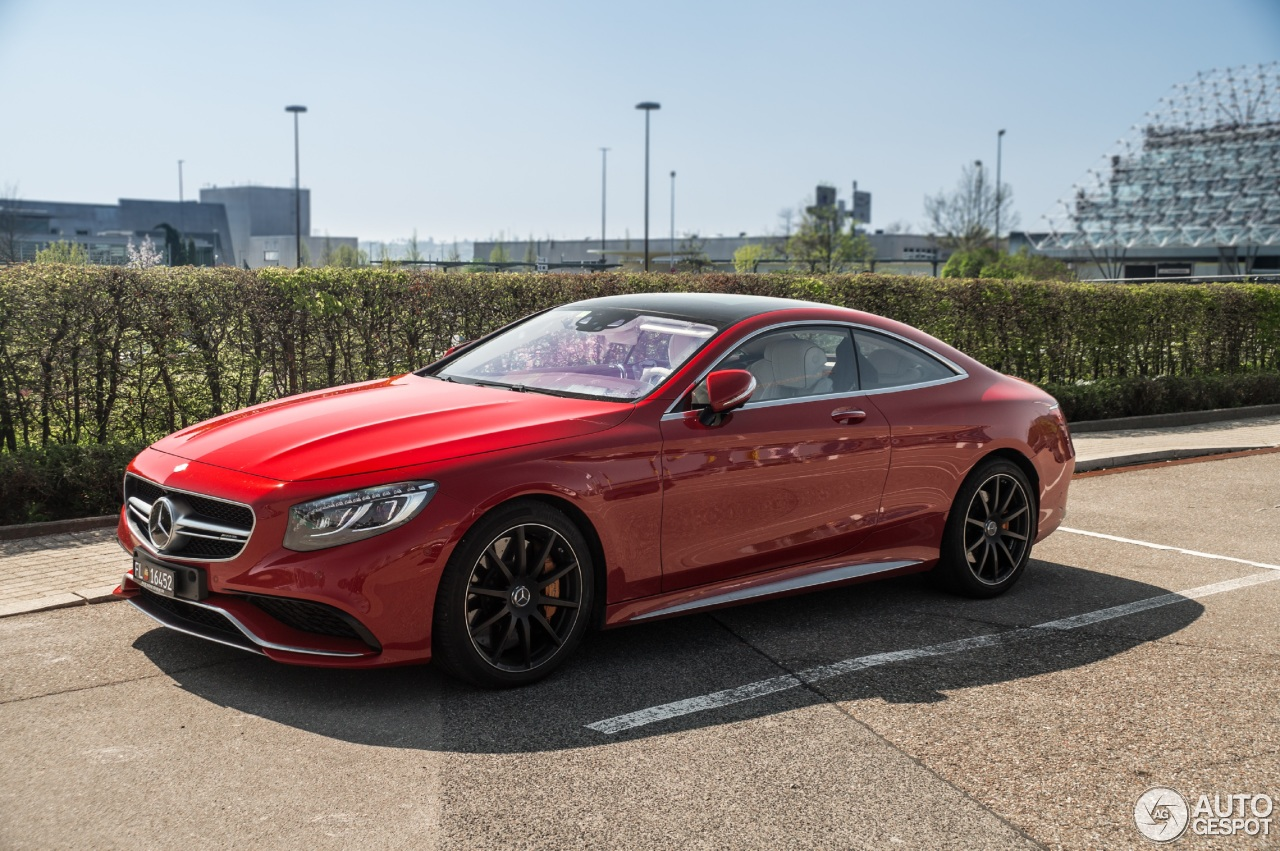Mercedes Benz S 63 Amg Coup C217 20 Abril 2017 Autogespot