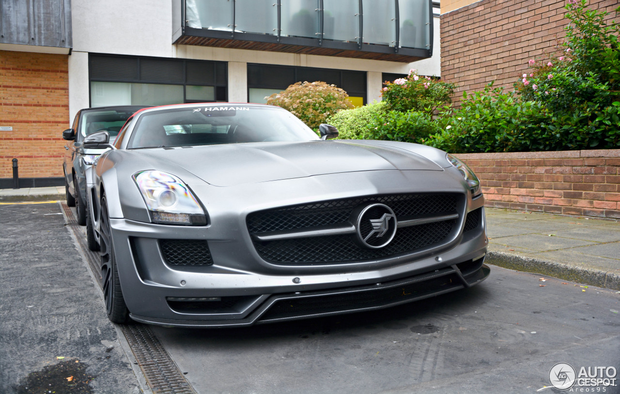 Mercedes benz hamann hawk sls amg roadster 20 april 2017 for Mercedes benz hamann