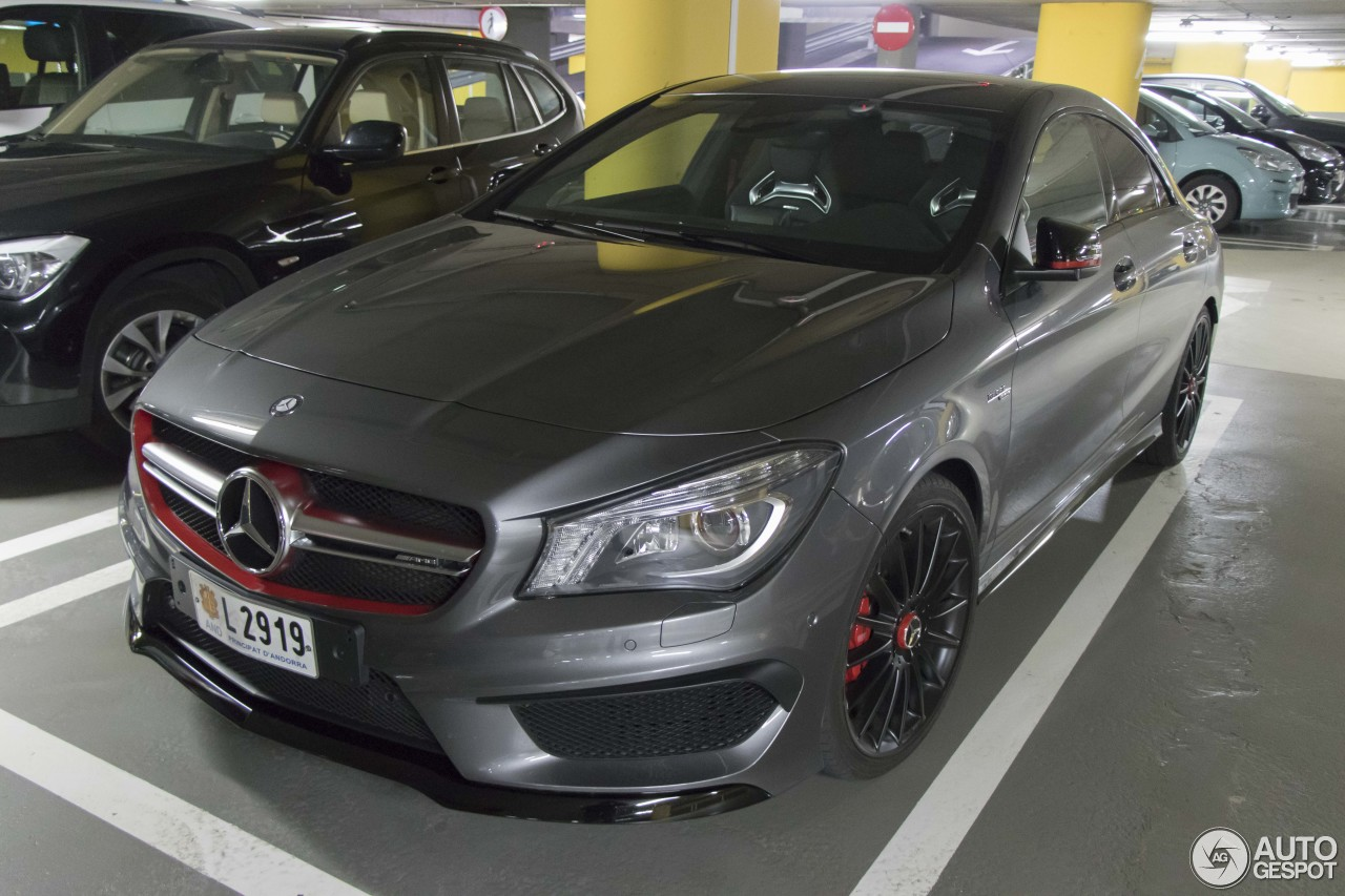 mercedes benz cla 45 amg edition 1 c117 21 april 2017 autogespot. Black Bedroom Furniture Sets. Home Design Ideas