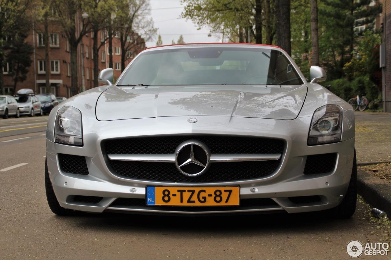 Mercedes Benz Sls Amg Roadster 21 Aprile 2017 Autogespot