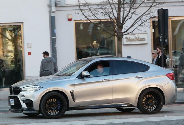 BMW X6 M F86 3D Design