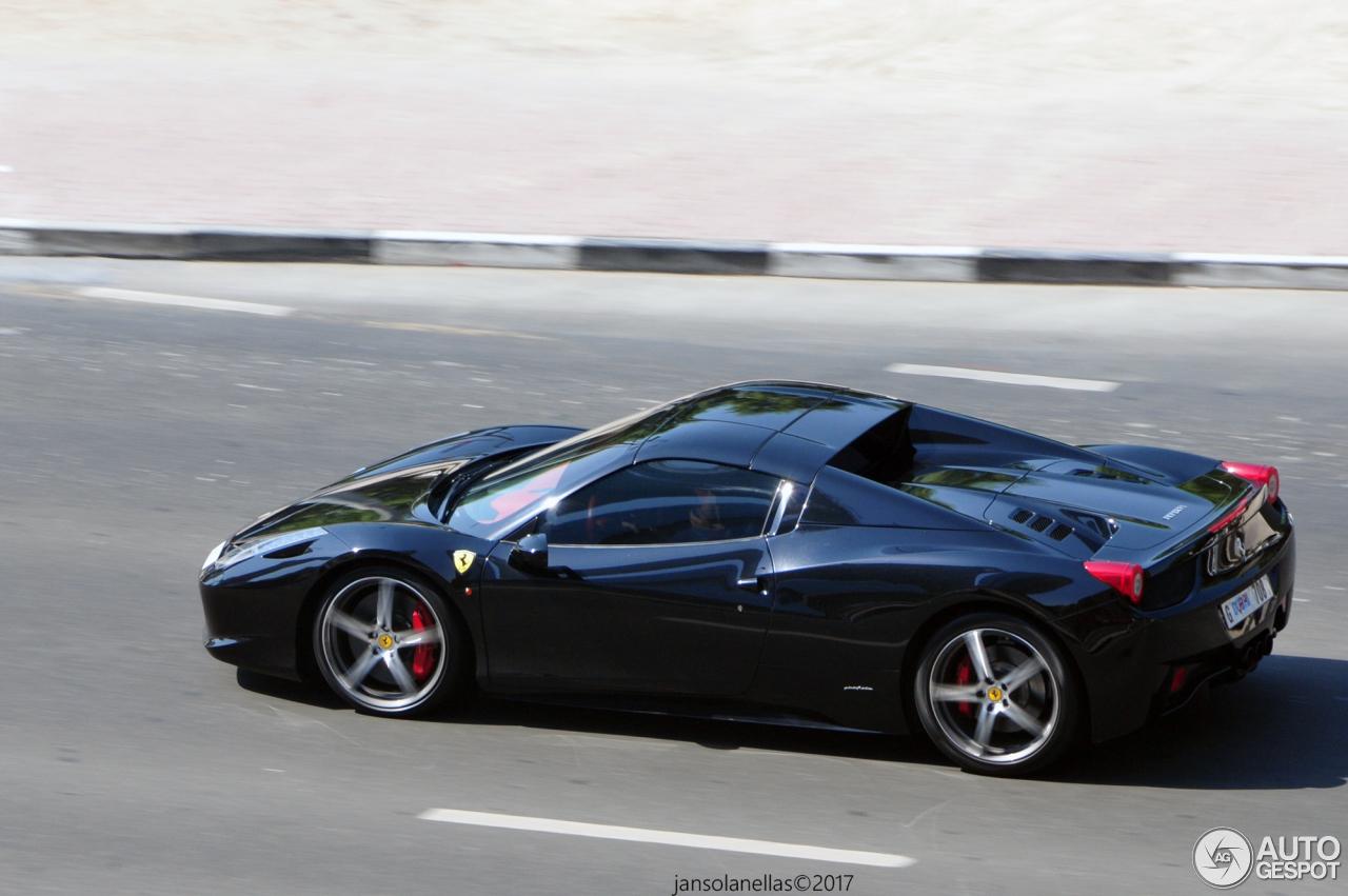 Ferrari 458 Spider - 22 April 2017 - Autogespot