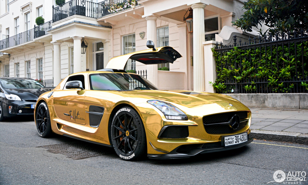 Mercedes benz sls amg black series 22 april 2017 for Mercedes benz sls black series
