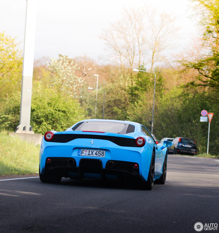 Ferrari F8 Tributo Colors: Ferrari 458 Speciale