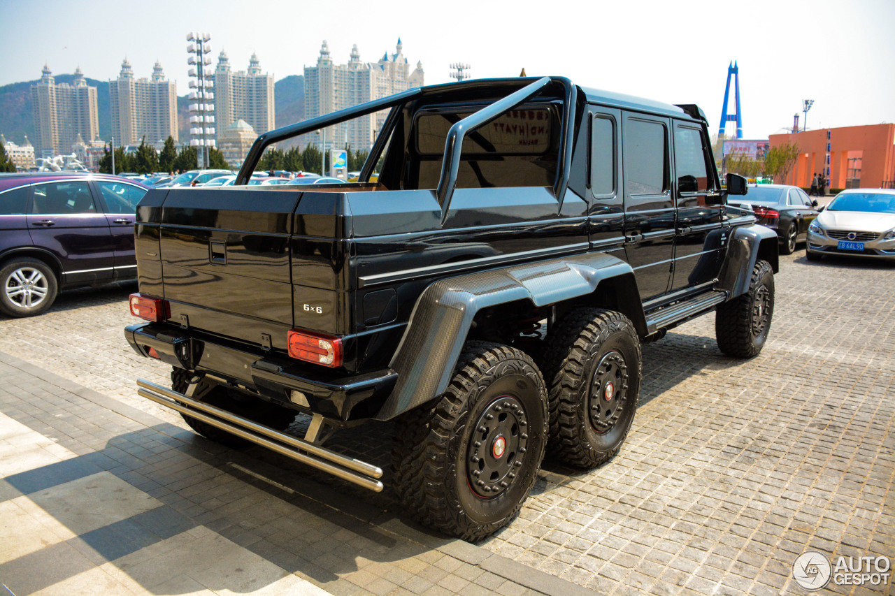 mercedes benz g 63 amg 6x6 23 april 2017 autogespot. Black Bedroom Furniture Sets. Home Design Ideas