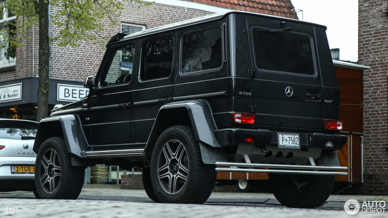 Mercedes benz g 500 4x4 25 april 2017 autogespot for Mercedes benz g 500