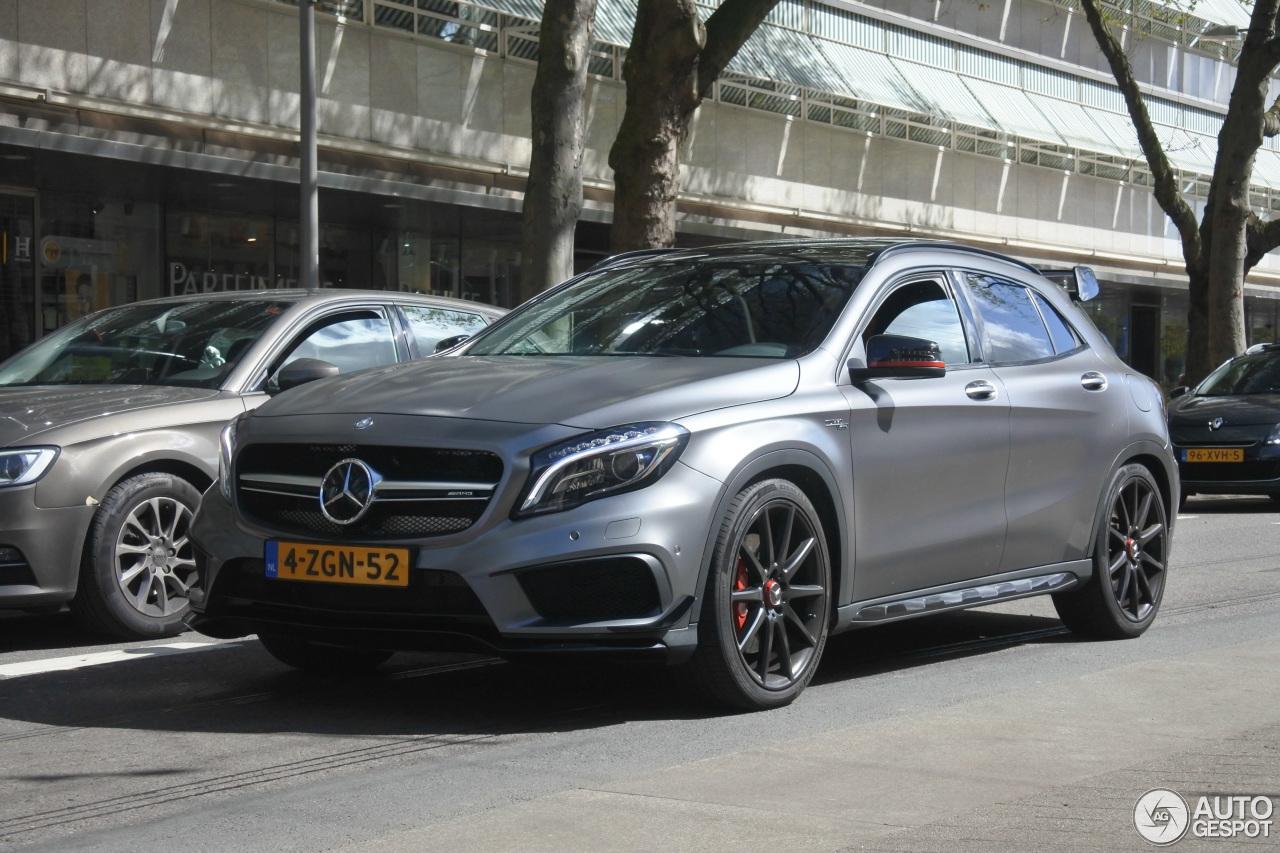 Mercedes benz gla 45 amg edition 1 25 april 2017 for 2017 amg gla 45 mercedes benz