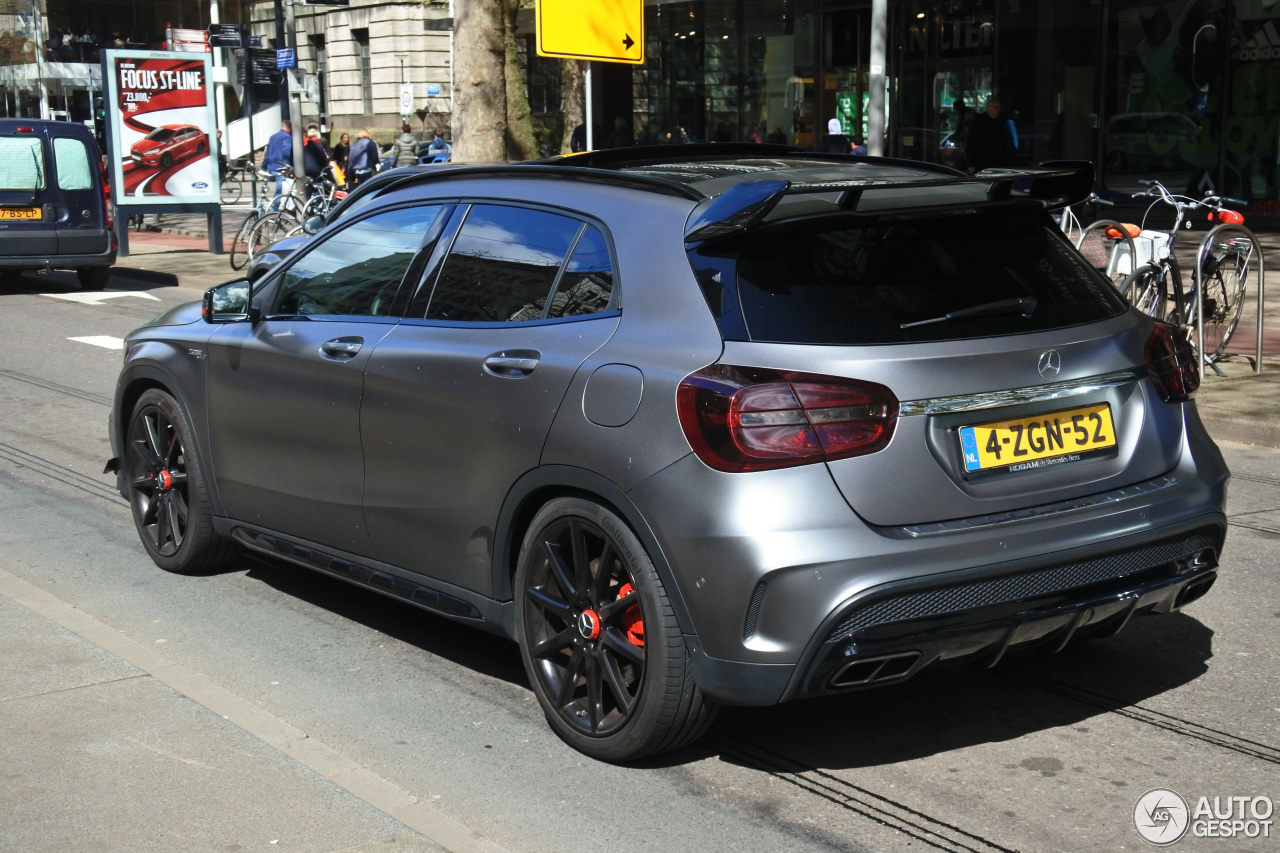 mercedes benz gla 45 amg edition 1 25 april 2017 autogespot. Black Bedroom Furniture Sets. Home Design Ideas