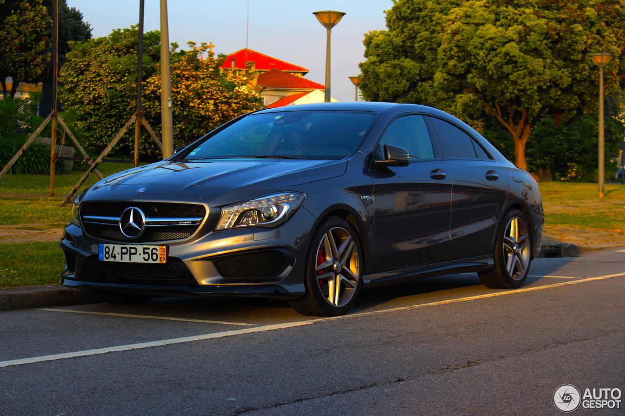 Mercedes benz cla 45 amg c117 26 april 2017 autogespot for Mercedes benz cla 2017