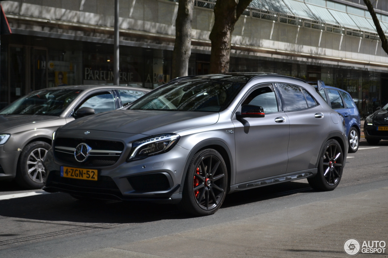 mercedes benz gla 45 amg edition 1 26 april 2017 autogespot. Black Bedroom Furniture Sets. Home Design Ideas