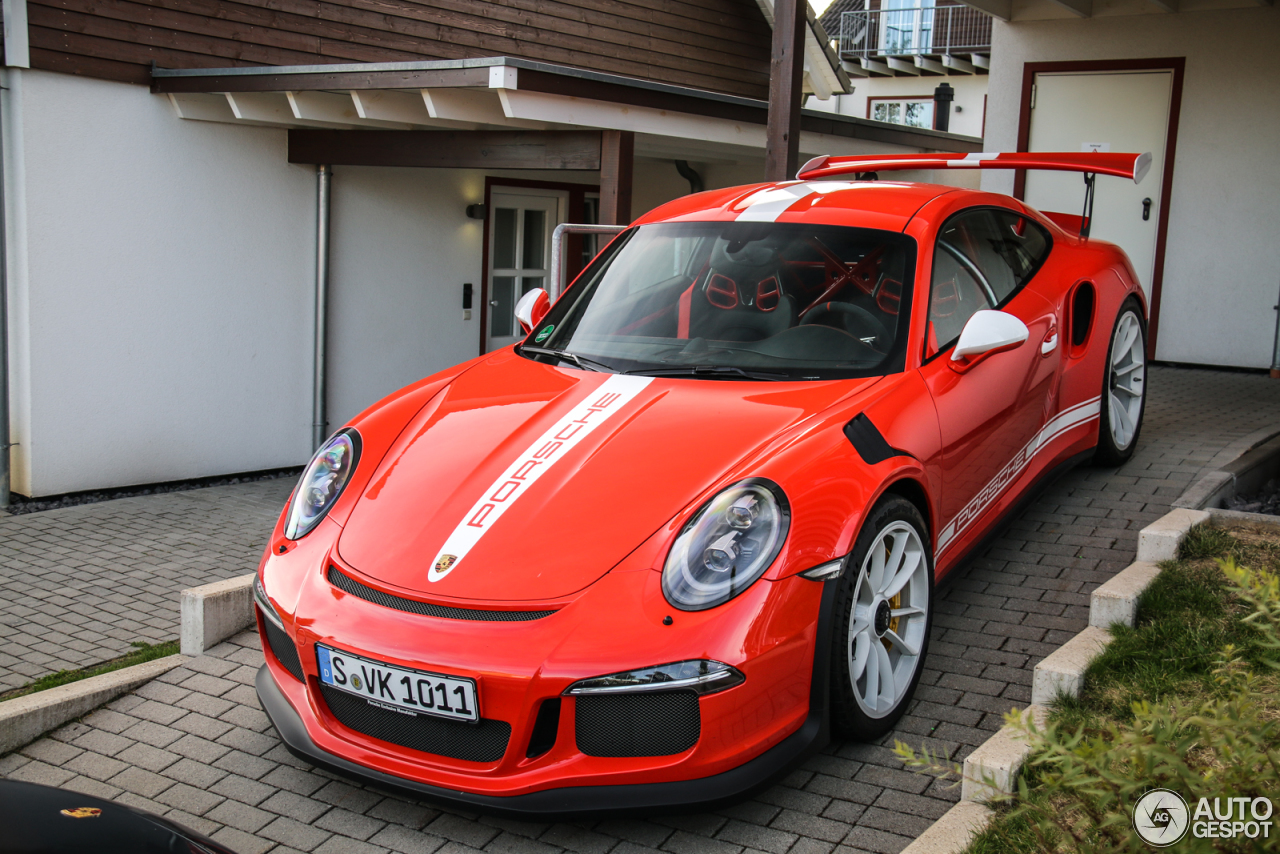 porsche 991 gt3 rs 26 april 2017 autogespot. Black Bedroom Furniture Sets. Home Design Ideas
