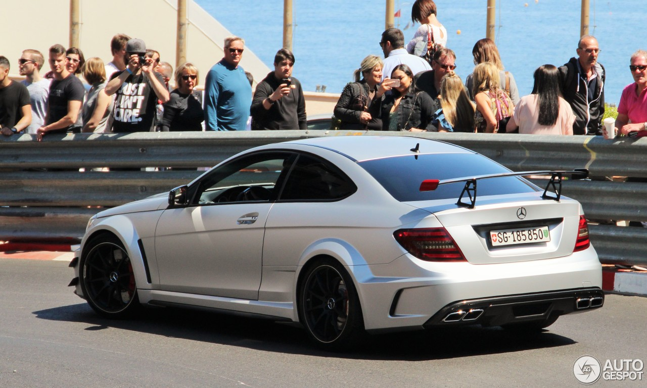 Mercedes Benz C 63 Amg Coup Black Series 27 Abril 2017