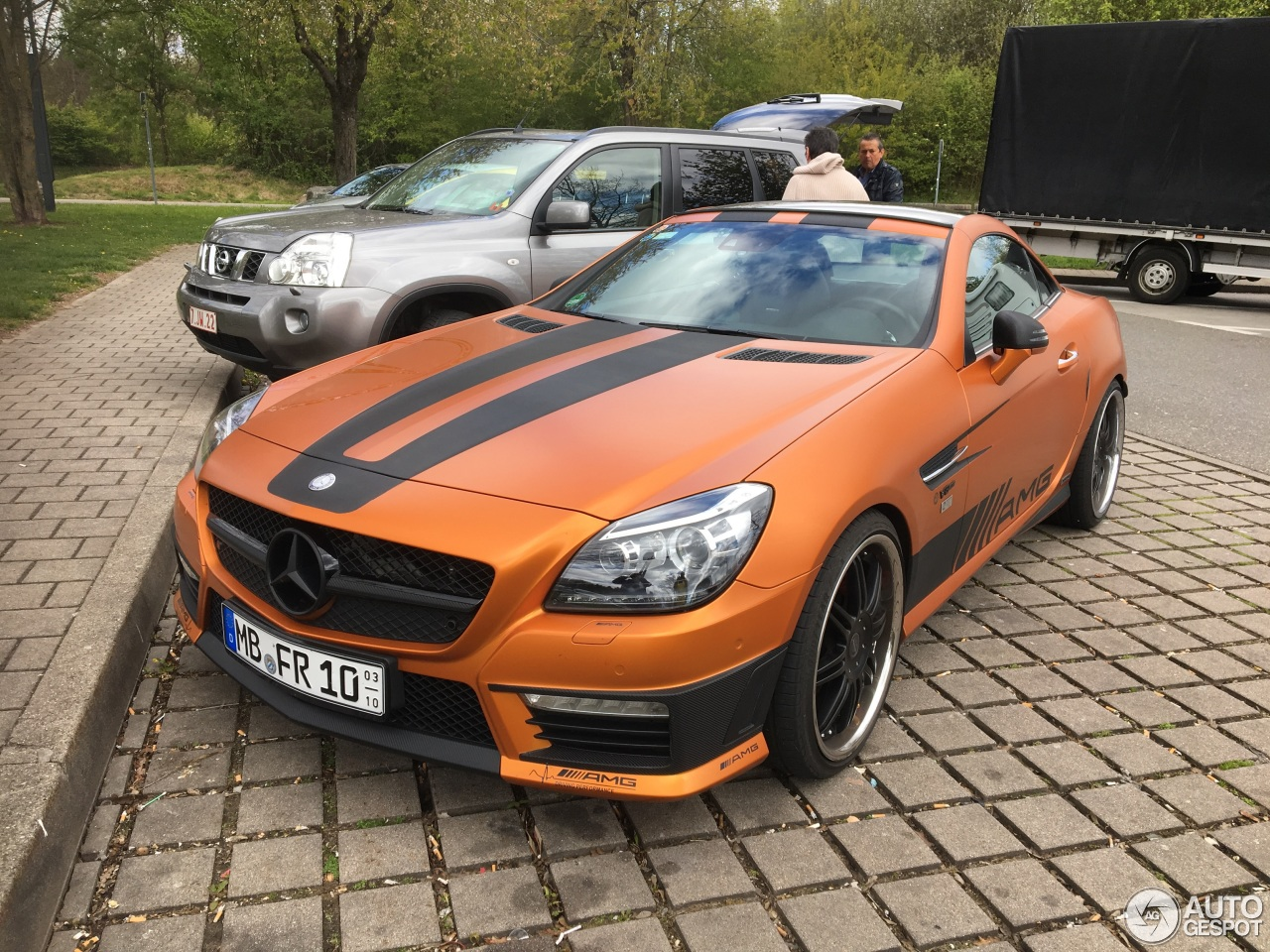 mercedes benz slk 55 amg r172 27 avril 2017 autogespot. Black Bedroom Furniture Sets. Home Design Ideas