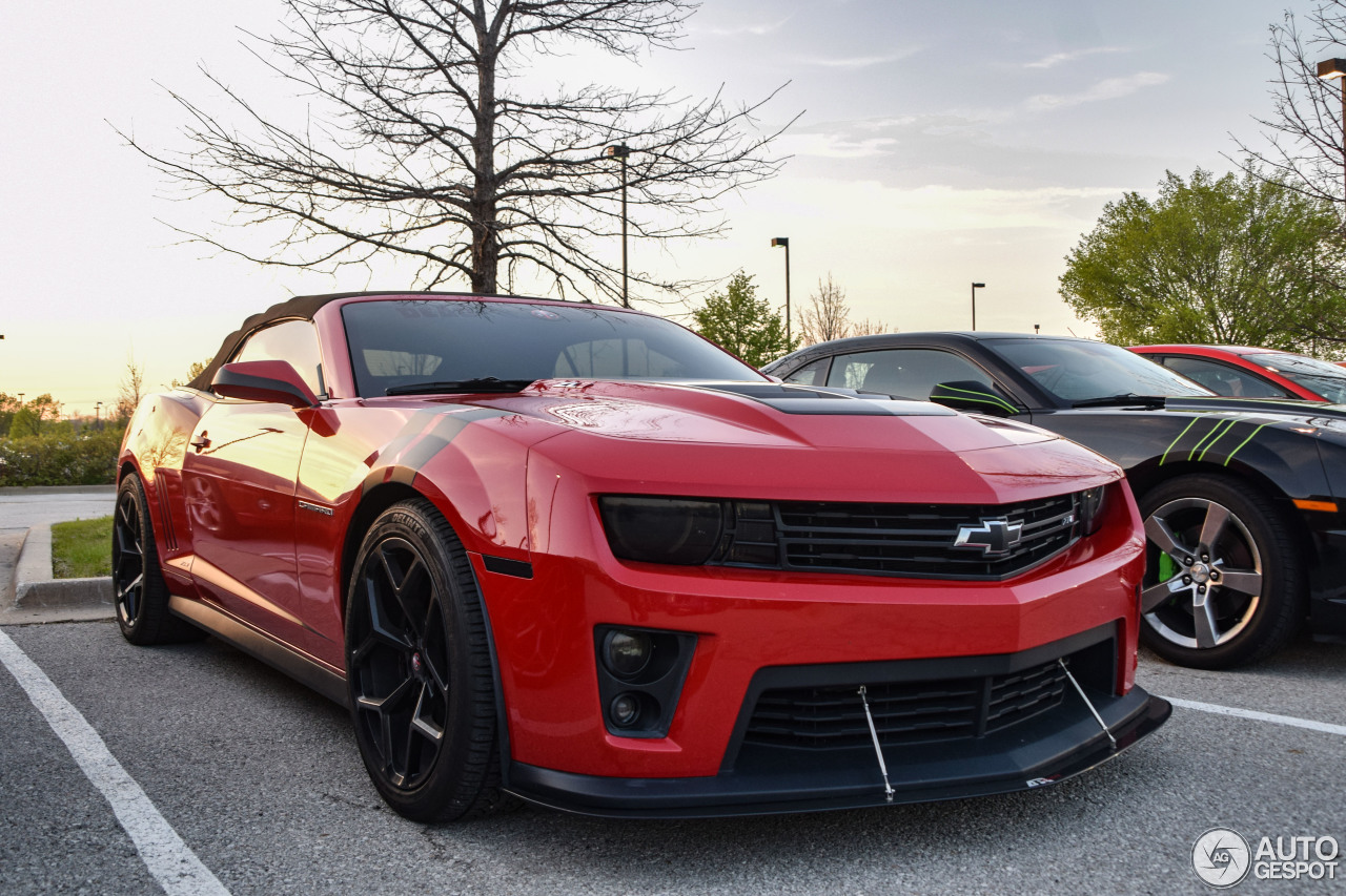 Chevrolet Camaro Zl1 Convertible 29 April 2017 Autogespot
