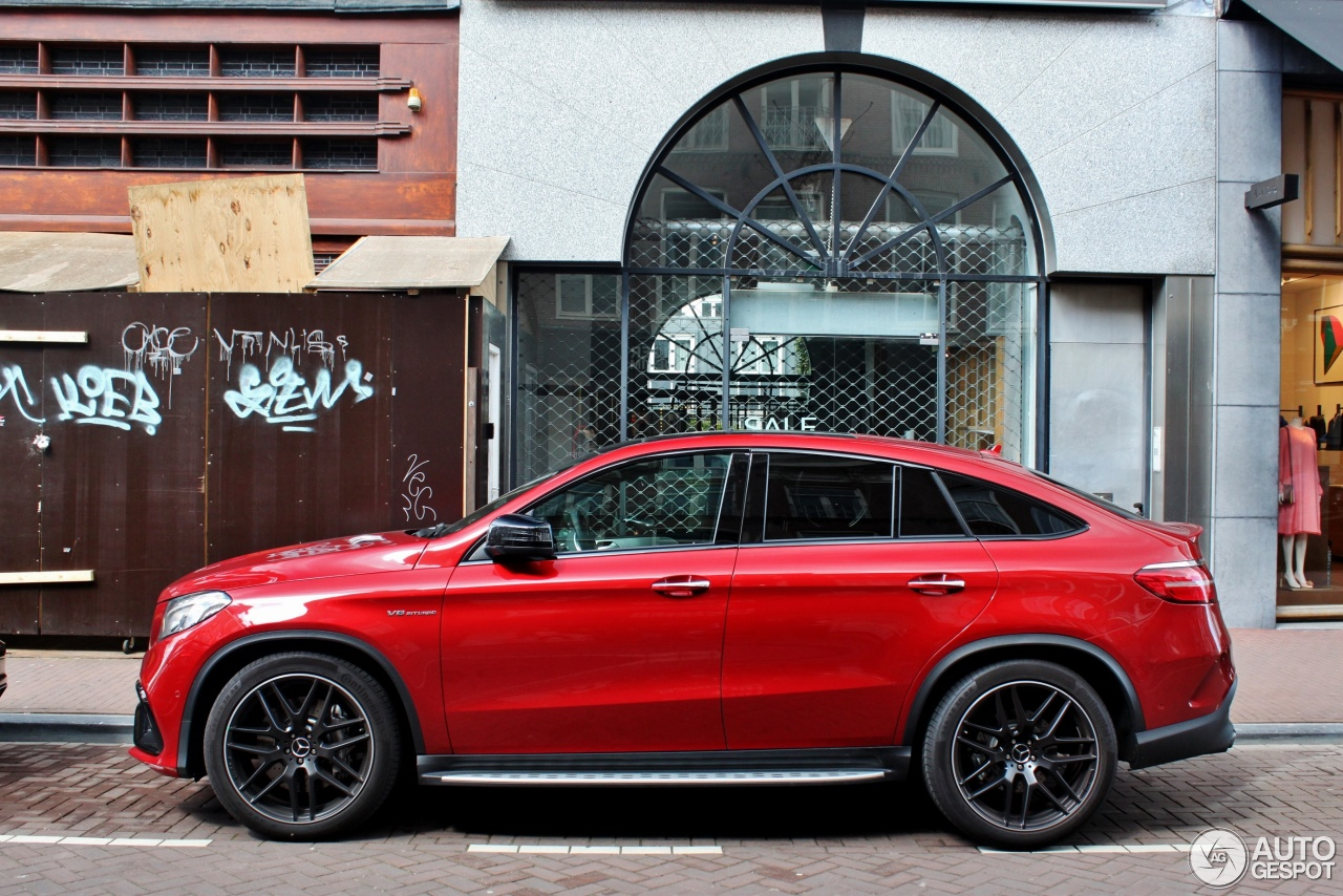 mercedes amg gle 63 coupe 29 april 2017 autogespot. Black Bedroom Furniture Sets. Home Design Ideas