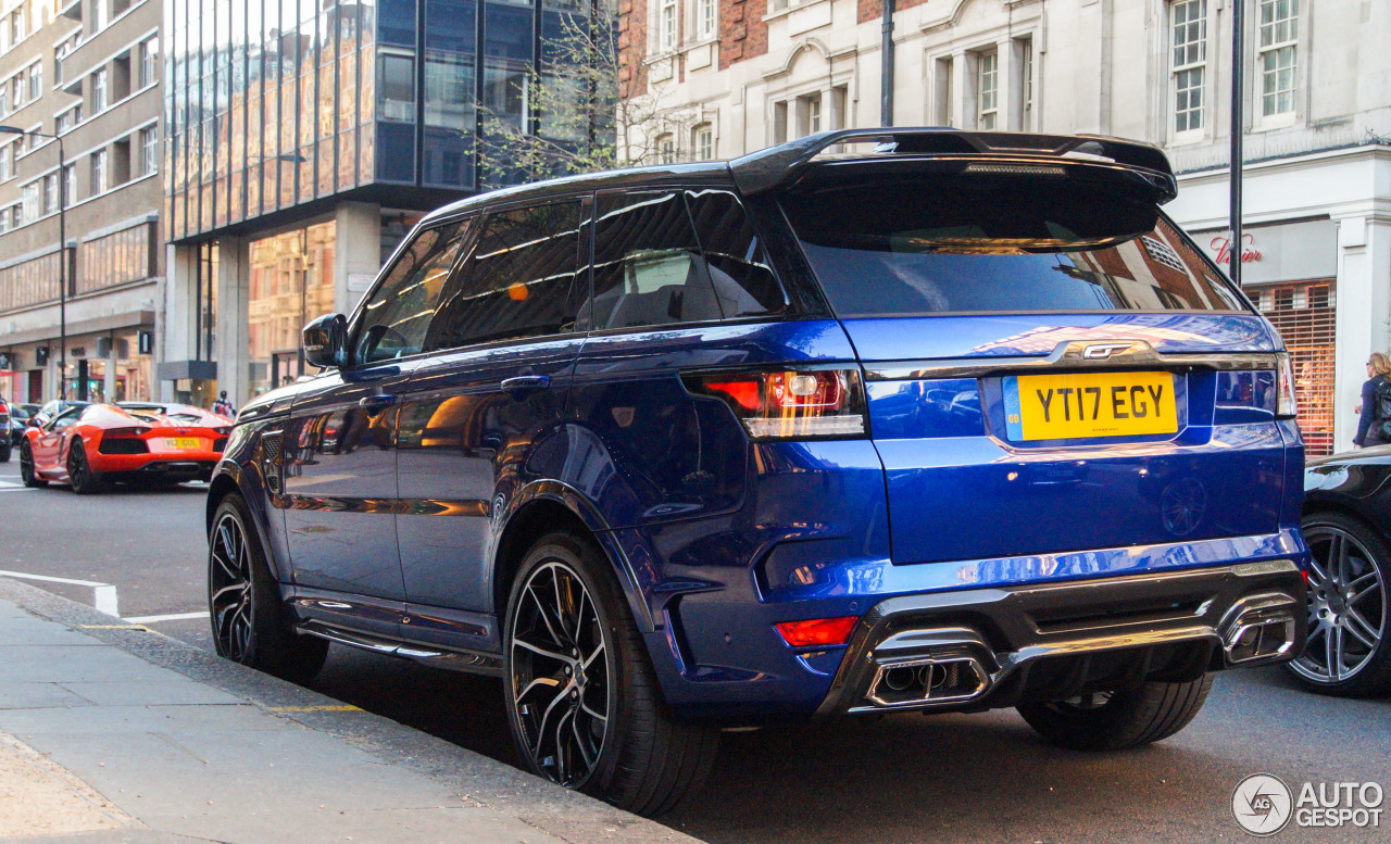 Land rover range rover overfinch gt svr 30 april 2017 for Interieur range rover