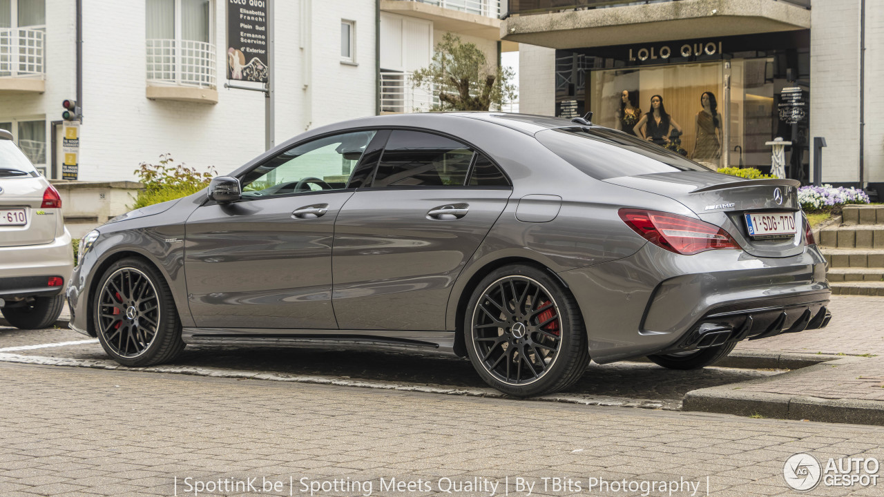 mercedes amg cla 45 c117 2017 30 avril 2017 autogespot. Black Bedroom Furniture Sets. Home Design Ideas