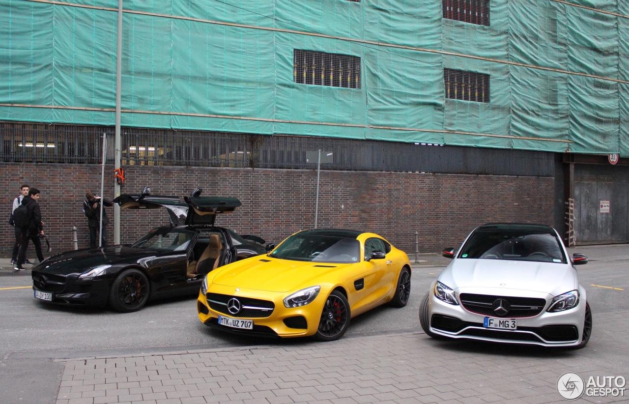 Mercedes Benz Sls Amg 1 Mai 2017 Autogespot