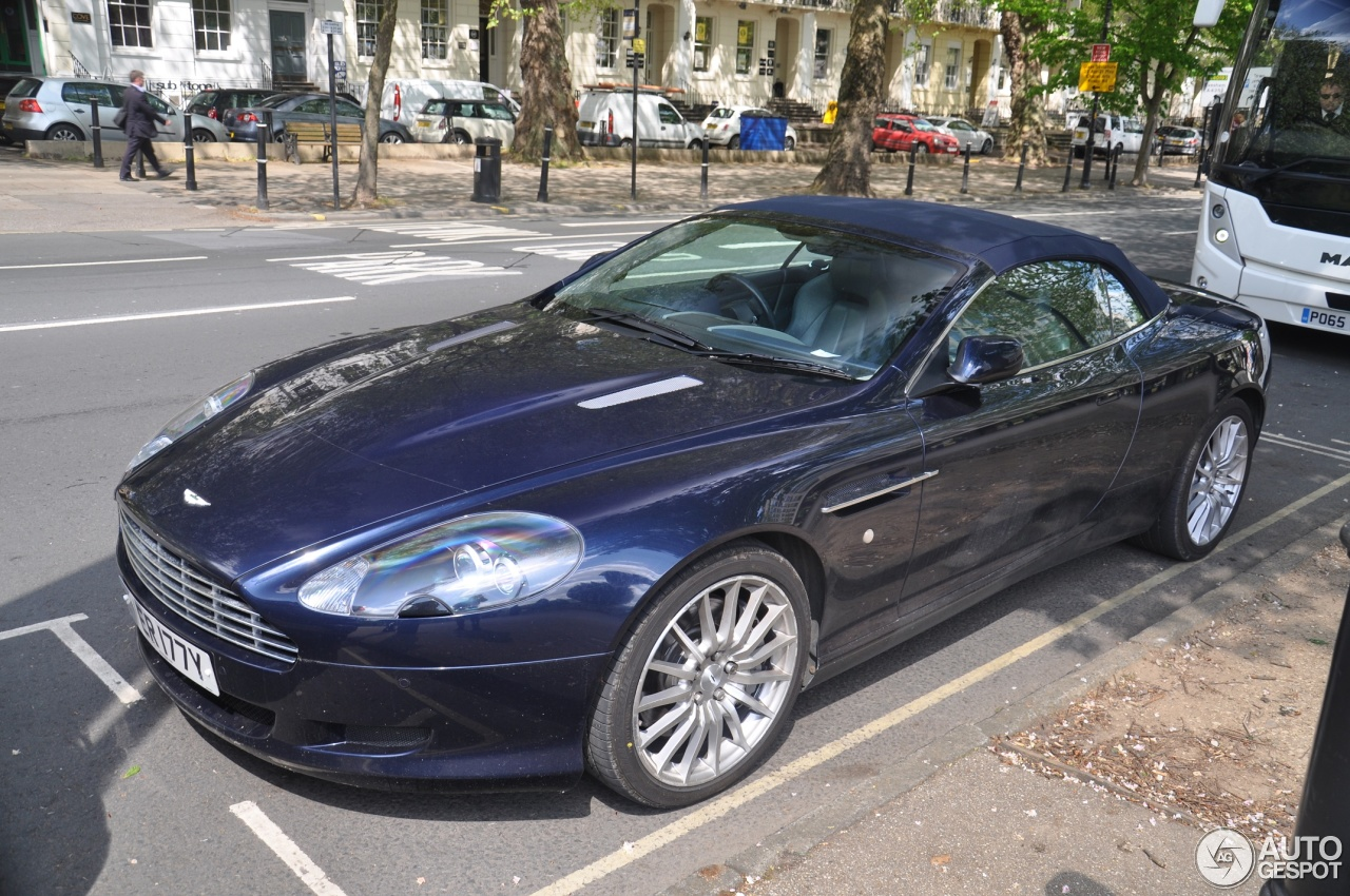 Aston Martin DB9 Volante - 2 May 2017 - Autogespot