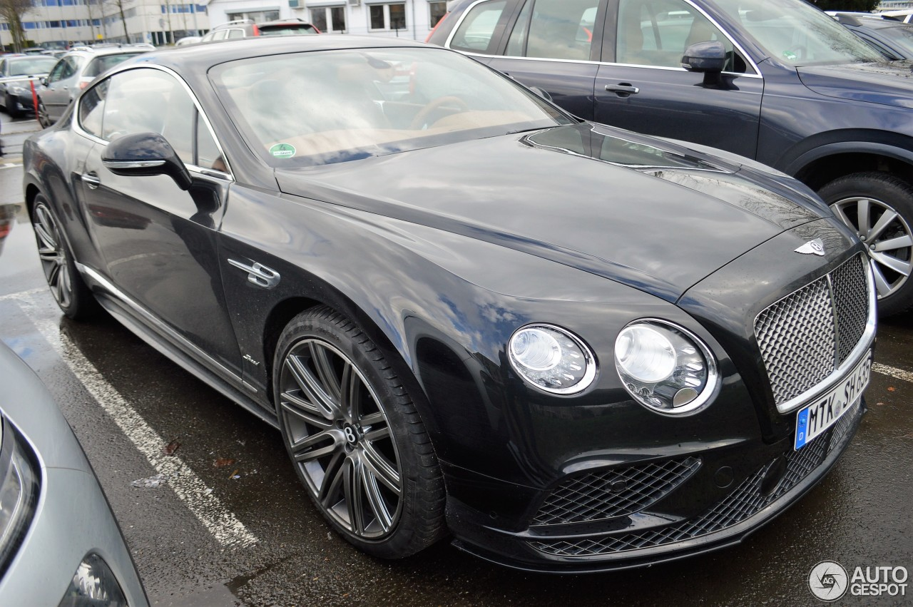 bentley continental gt speed 2016 3 mei 2017 autogespot. Black Bedroom Furniture Sets. Home Design Ideas