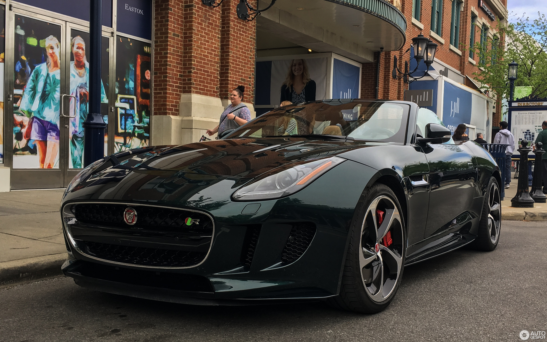 Jaguar F-TYPE R AWD Convertible - 3 May 2017 - Autogespot