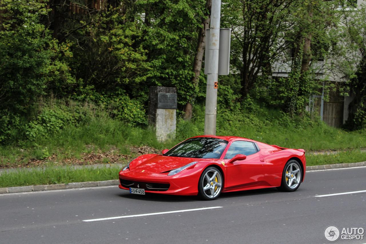 1 i ferrari 458 spider 1 - Ferrari 458 Spider Green