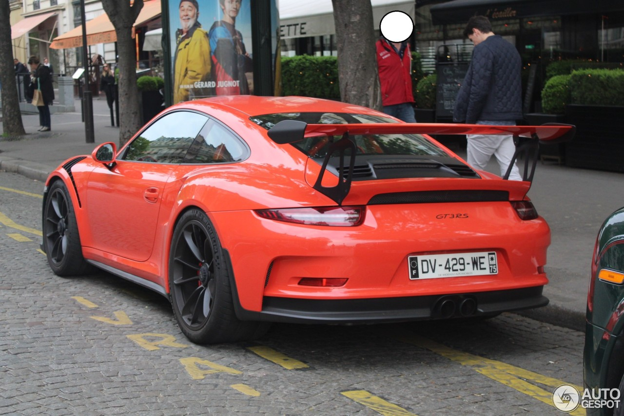 porsche 991 gt3 rs 4 may 2017 autogespot. Black Bedroom Furniture Sets. Home Design Ideas