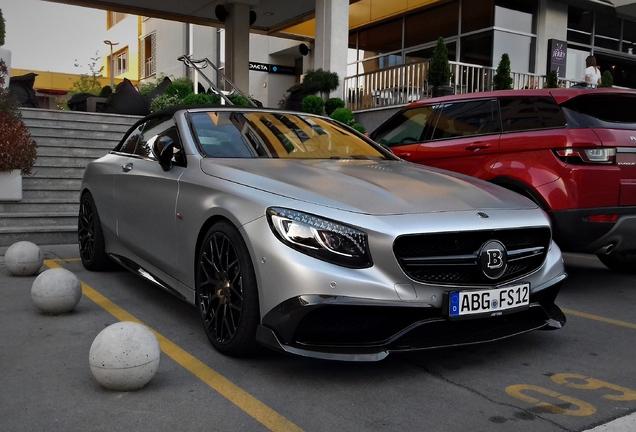 Mercedes-AMG Brabus 850 6.0 Biturbo Convertible A217