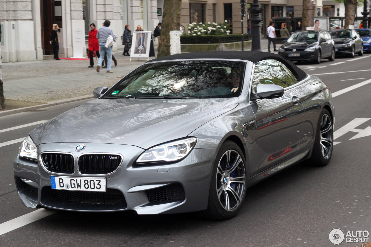 bmw m6 f12 cabriolet 2015 6 may 2017 autogespot. Black Bedroom Furniture Sets. Home Design Ideas