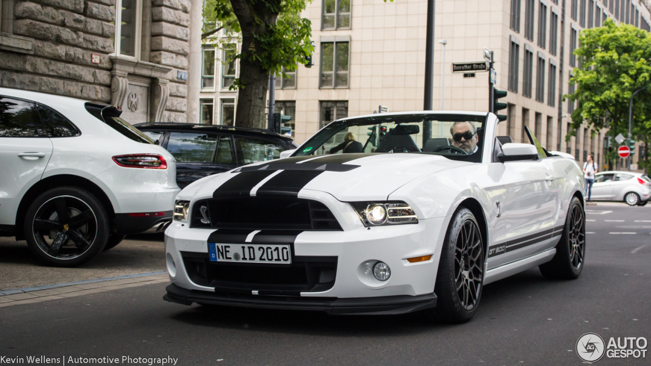 Ford Mustang Shelby Gt500 Convertible 2017 6 May