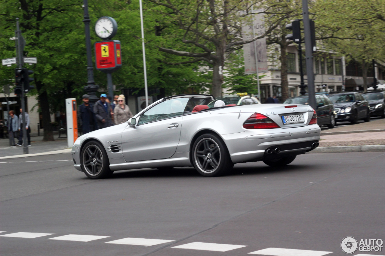 Mercedes benz sl 55 amg r230 6 mei 2017 autogespot for Mercedes benz 230 2017
