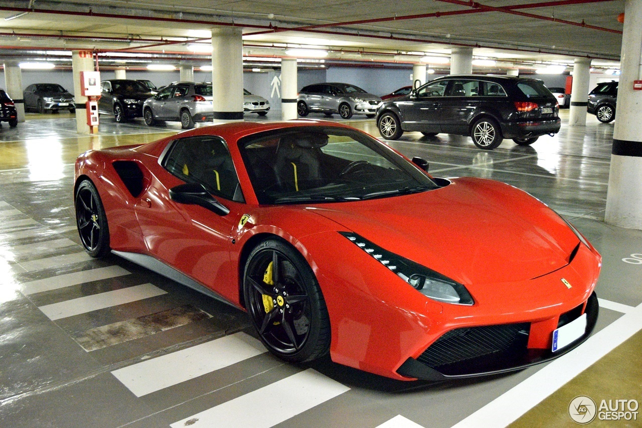2017 Ferrari 488 Spider >> Ferrari 488 Spider 7 May 2017 Autogespot