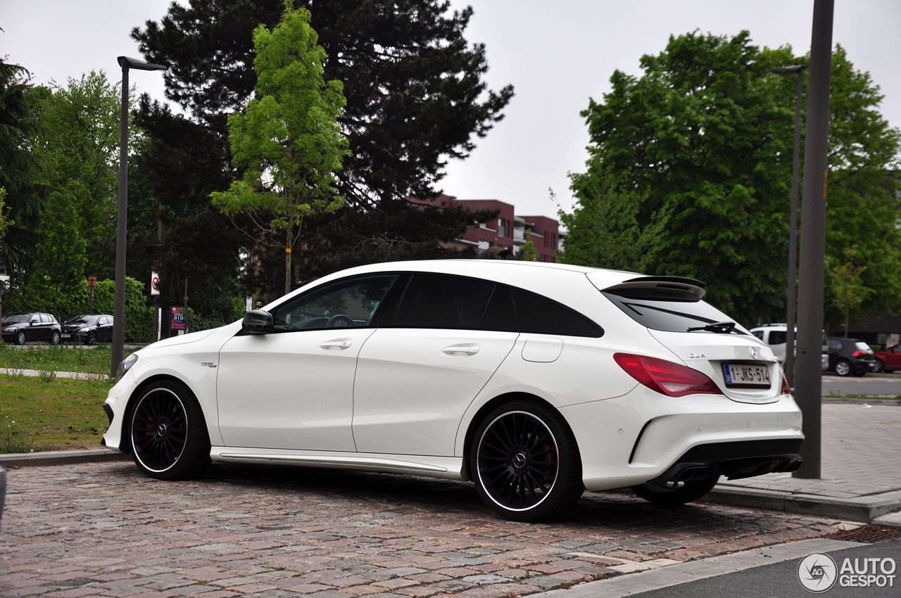 mercedes benz cla 45 amg shooting brake 7 may 2017 autogespot. Black Bedroom Furniture Sets. Home Design Ideas