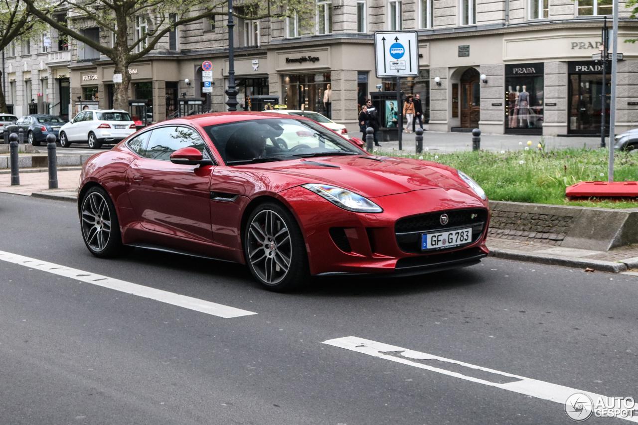 Jaguar f type r coup 8 maio 2017 autogespot - Jaguar f type r coupe prix ...